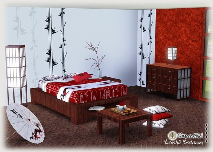 Best Japanese Bedding Cherry Blossoms My Sims 3 Blog With Pictures