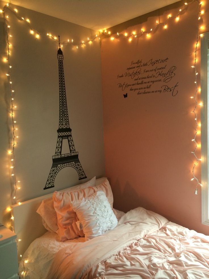Best String Lights In Bedroom Room Ideas Pinterest With Pictures