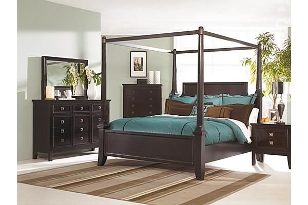 Best The Martini Suite Poster Bedroom Set From Ashley Furniture With Pictures