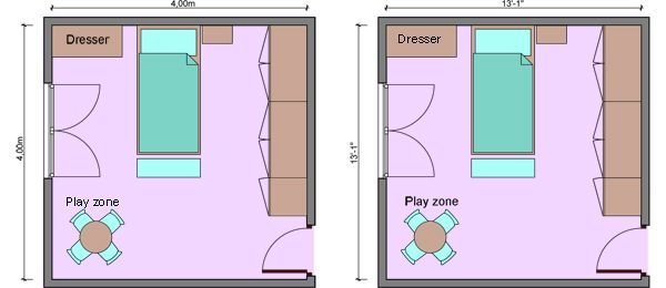 Best Large Bedroom Kids Bedroom Measurements Bedroom With Pictures