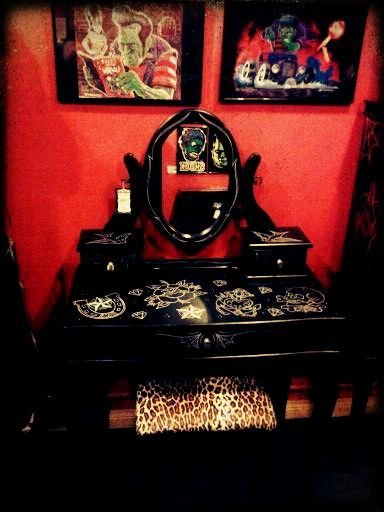 Best 1000 Ideas About Rockabilly Home Decor On Pinterest Cherry Kitchen Decor Retro Bathrooms And With Pictures