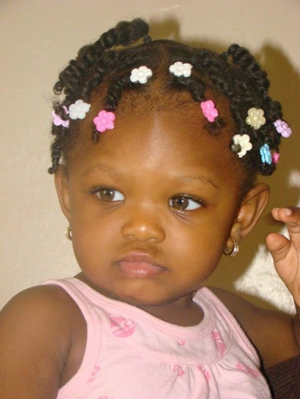 Free African American Hairstyles For Toddler Girls That Pull Wallpaper