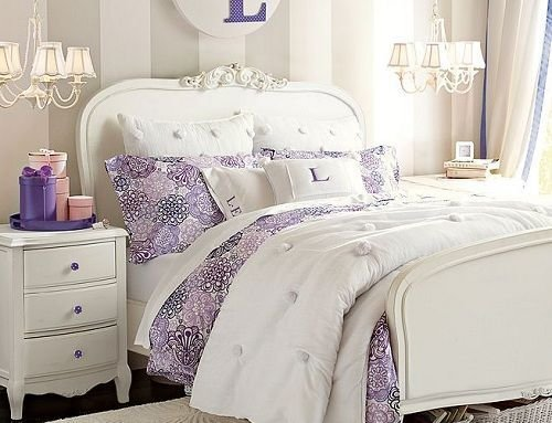 Best Luxury Bedroom Ideas For Teenage Girl Using Purple Accent With Pictures
