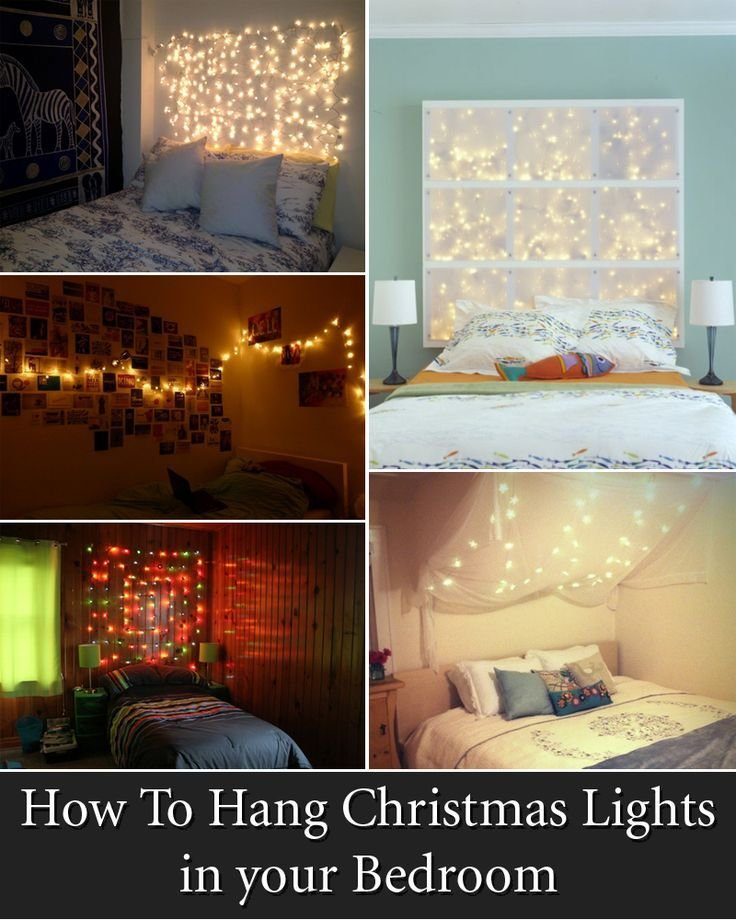 Best 1000 Ideas About Christmas Lights Bedroom On Pinterest Diy Bedroom Decor Room Lights And With Pictures