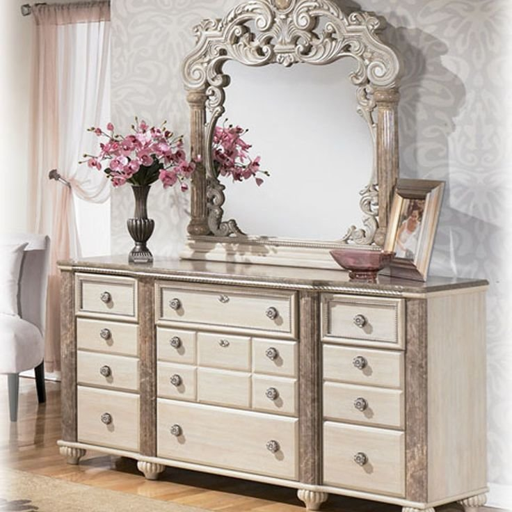 Best Discontinued Ashley Furniture Bedroom Sets Ashley Furniture Charlinda King Poster Bedroom With Pictures