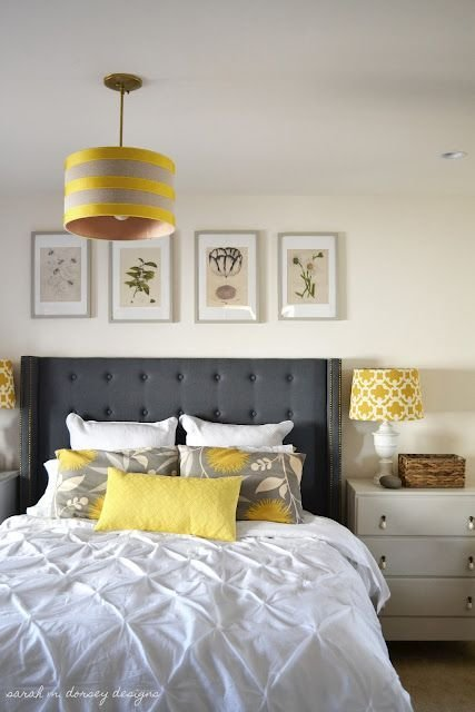Best 25 Gray Yellow Bedrooms Ideas On Pinterest With Pictures