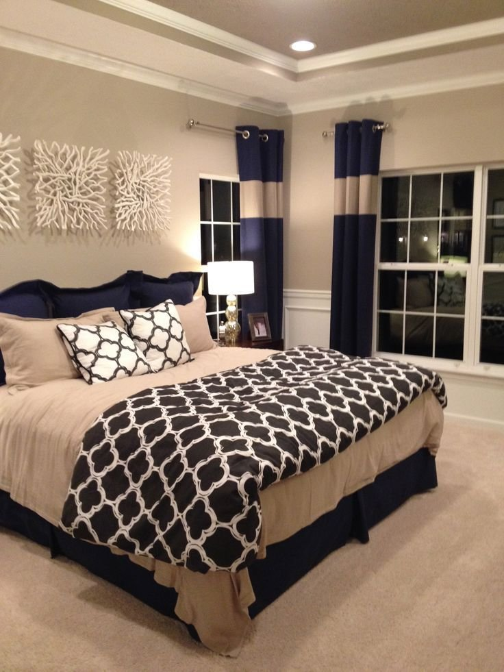 Best 20 Navy Master Bedroom Ideas On Pinterest With Pictures