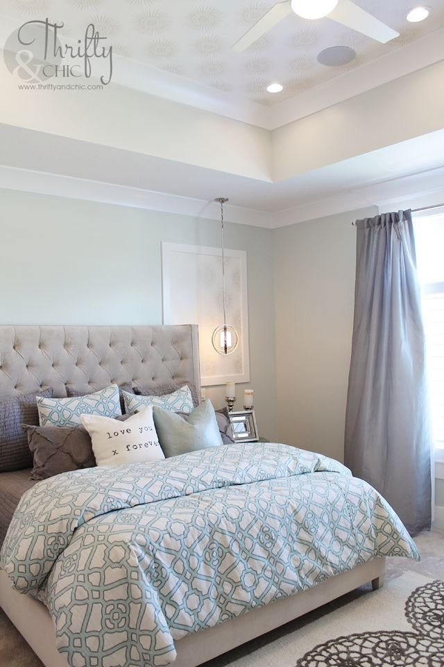 Best Soothing Paint Colors Of Blue And Grey For This Master With Pictures