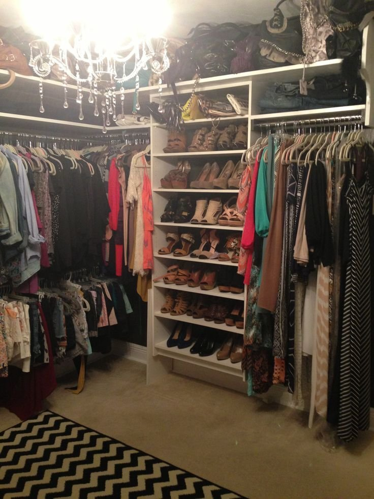 Best Small Bedroom Converted Into A Closet So Fetch With Pictures