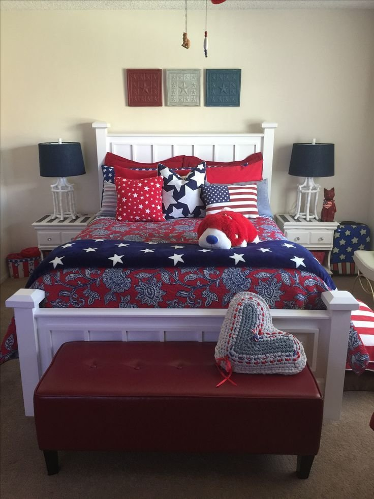 Best 1000 Ideas About Patriotic Bedroom On Pinterest American Flag Bedroom Patriotic Decorations With Pictures