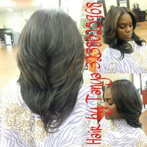 Free Partial Sewed In Weave With Middle Part Partial Weaves Wallpaper