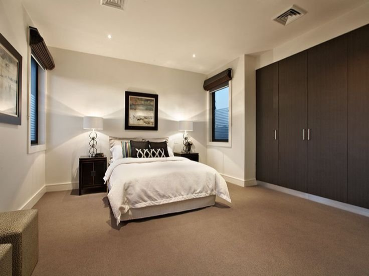 Best Modern Bedroom Design Idea With Carpet Built In Wardrobe With Pictures