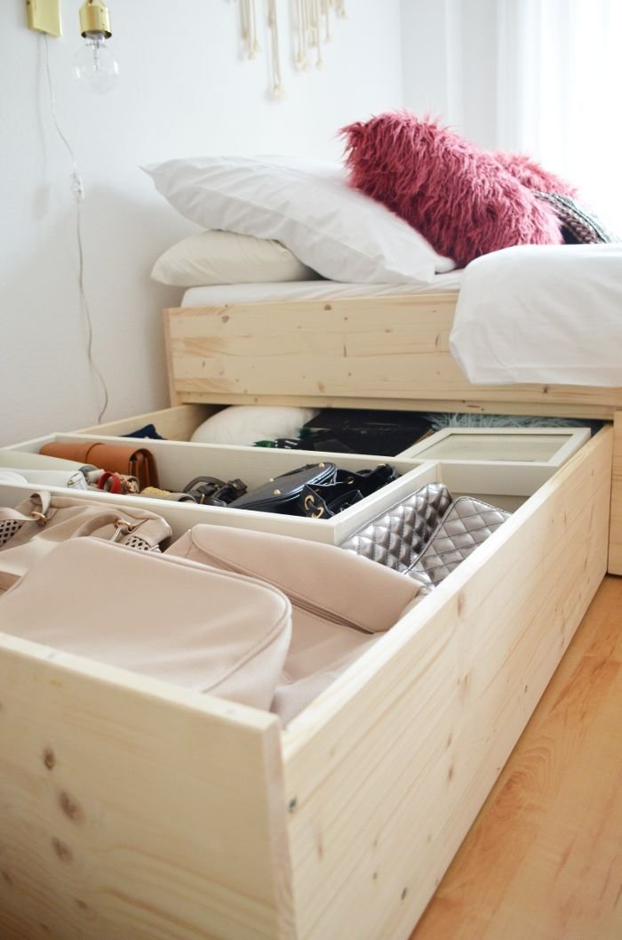 Best 25 Diy Storage Bed Ideas On Pinterest Beds For With Pictures