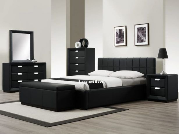 Best 17 Best Ideas About Black Leather Bed On Pinterest Black With Pictures