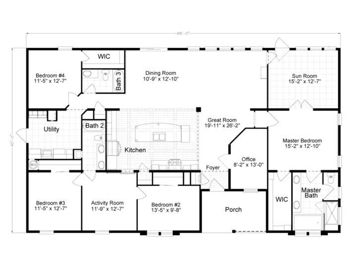 Best 2500 Sq Ft Modular House Plans Single Story Google Search House Plans Pinterest House With Pictures