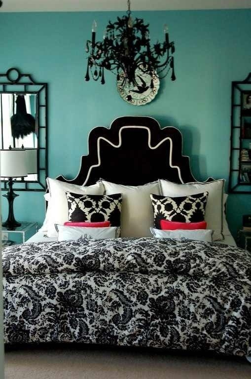 Best Teal Black White Room Cute Bedroom Ideas With Pictures