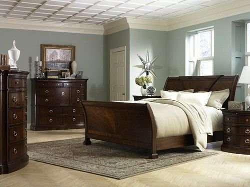 Best I Love Blue Walls With Dark Furniture Bedroom Ideas With Pictures