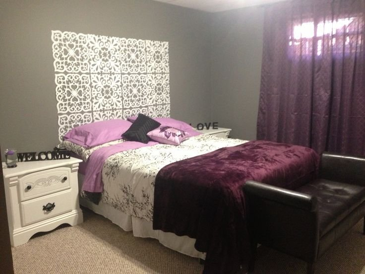 Best Purple Grey And White Bedroom Ideas Bedrooms Pinterest With Pictures
