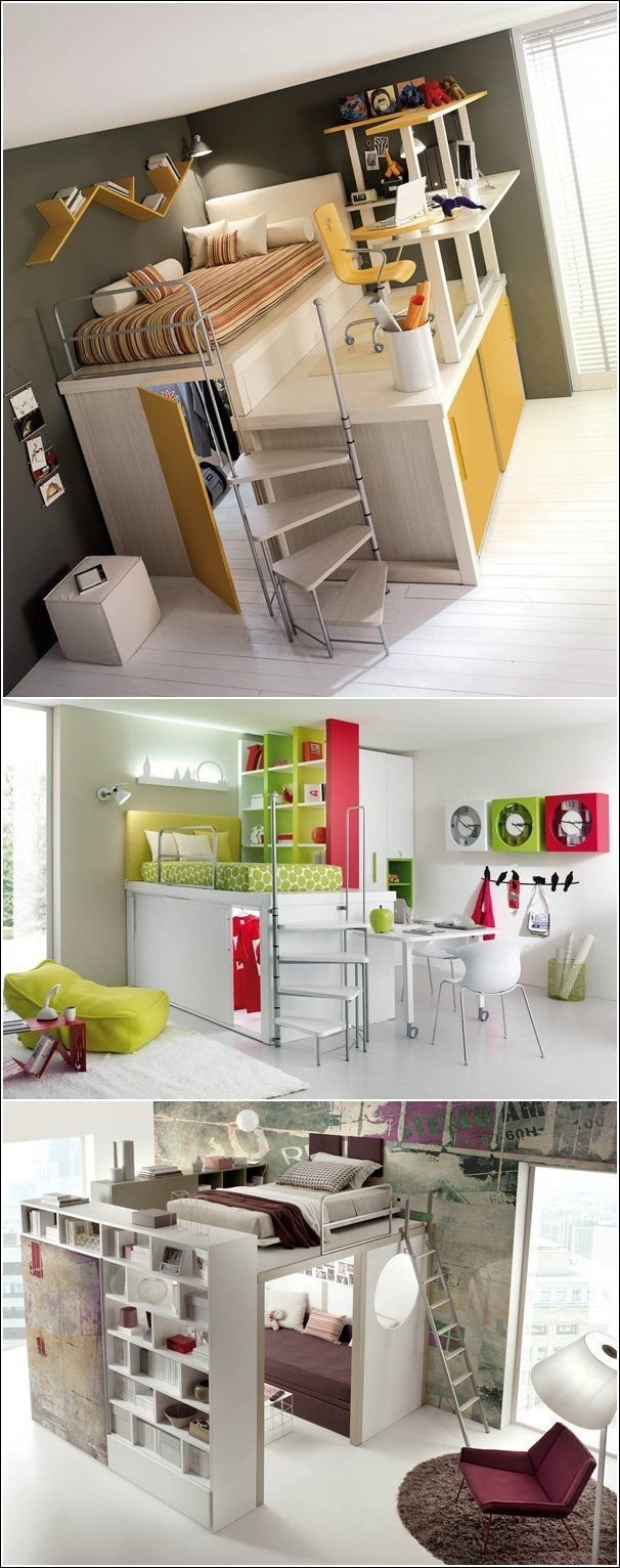 Best 25 Space Saving Bedroom Ideas On Pinterest Space With Pictures
