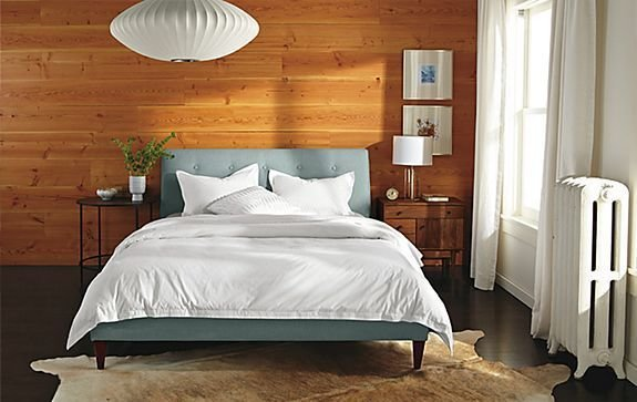 Best Hoffman Bed With Nelson Pendant Bedroom Room Board With Pictures