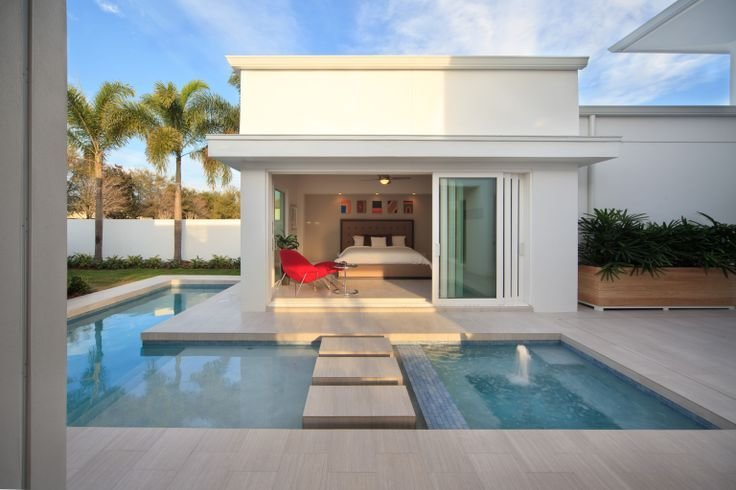 Best Master Bedroom Opens Onto The Swimming Pool And The With Pictures