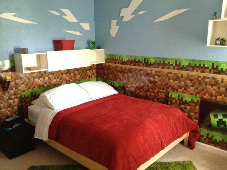 Best 25 Best Ideas About Boys Minecraft Bedroom On Pinterest Minecraft Bedroom Minecraft Room And With Pictures