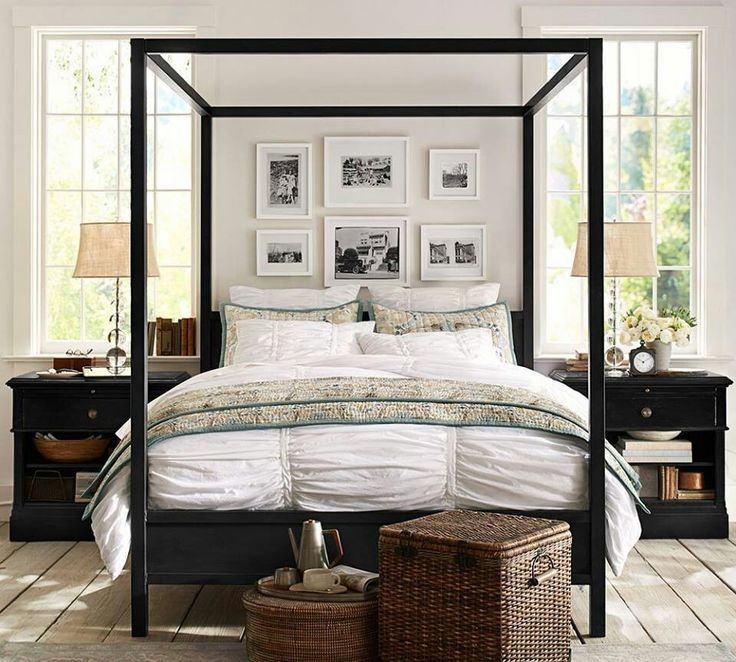 Best Pottery Barn Master Bedroom Ideas Four Post Beds With Pictures