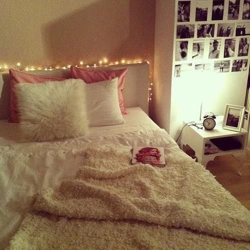 Best Simple T**N Girls Bedroom Pretty Fairy Lights With Pictures