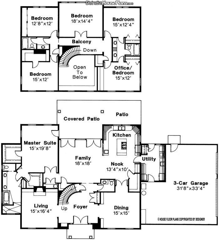 Best 5 Bed 3 5 Bath 2 Story House Plan Turn 18 X14 4 Bedroom With Pictures