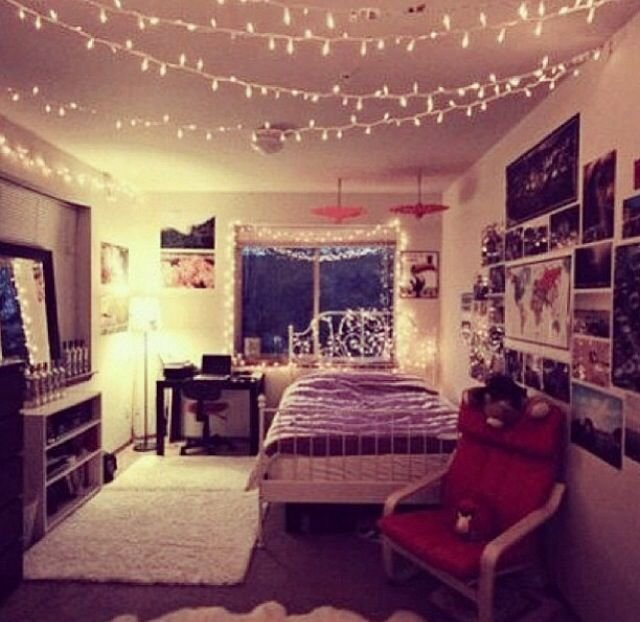 Best Lights Pictures Typical Hipster Bedroom Hipster T**N With Pictures