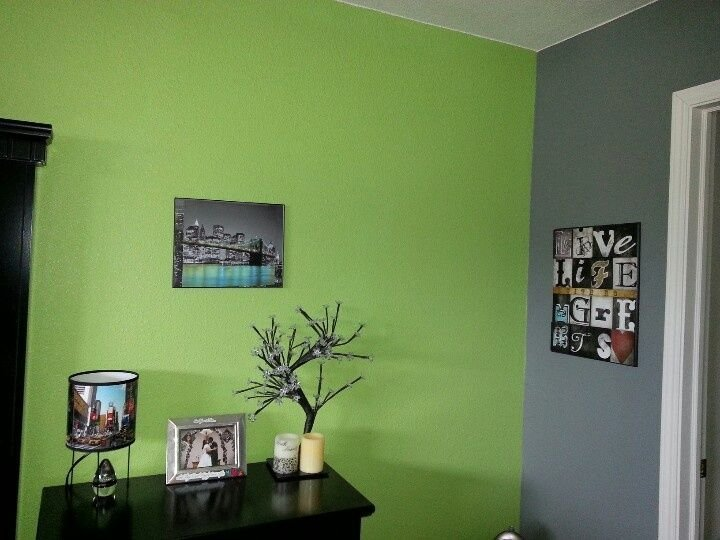 Best Green Grey Paint Manificent Decoration Lime Green And Grey With Pictures