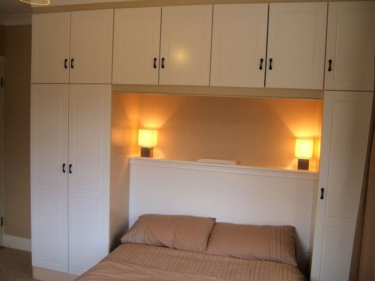 Best Simple Above Bed Cabinets I Like The Fixtures Home With Pictures