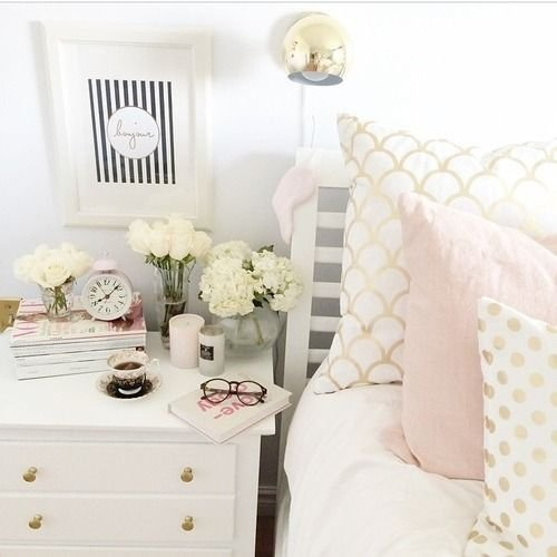Best 17 Best Ideas About Pink Gold Bedroom On Pinterest With Pictures