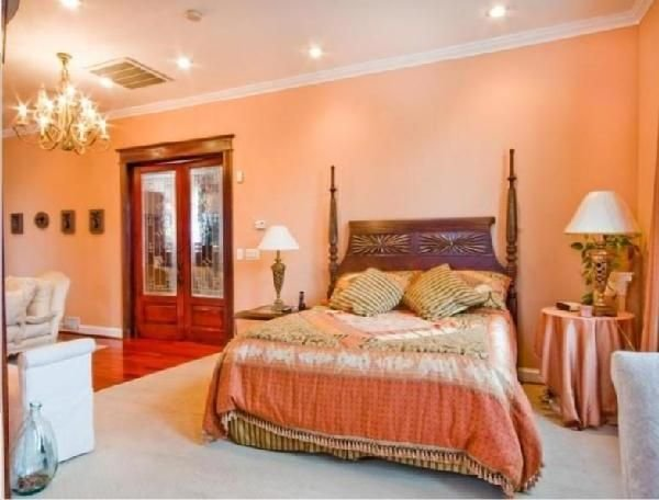 Best Images Of Peach Bedrooms With Brown Furniture Google With Pictures