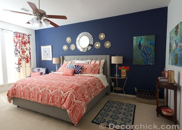 Best 25 Navy Coral Bedroom Ideas On Pinterest With Pictures