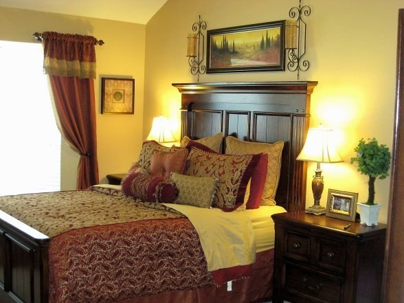 Best Red And Gold Bedroom Again Master Bedroom Pinterest With Pictures