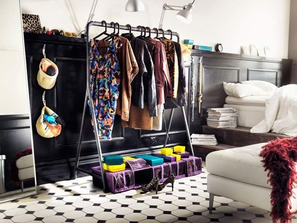 Best Wardrobe Storage Idea Clothes Rack Bedroom Pinterest With Pictures