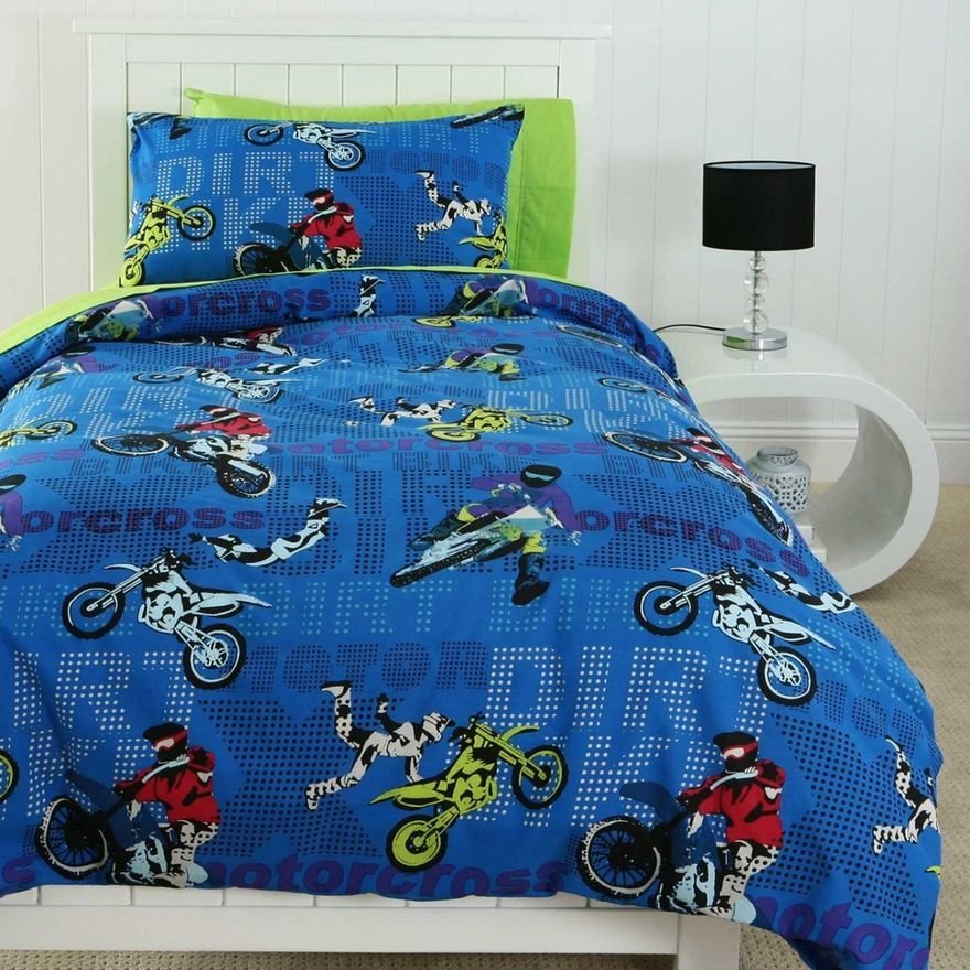 Best Motocross Single Bedding Michael Room Pinterest With Pictures
