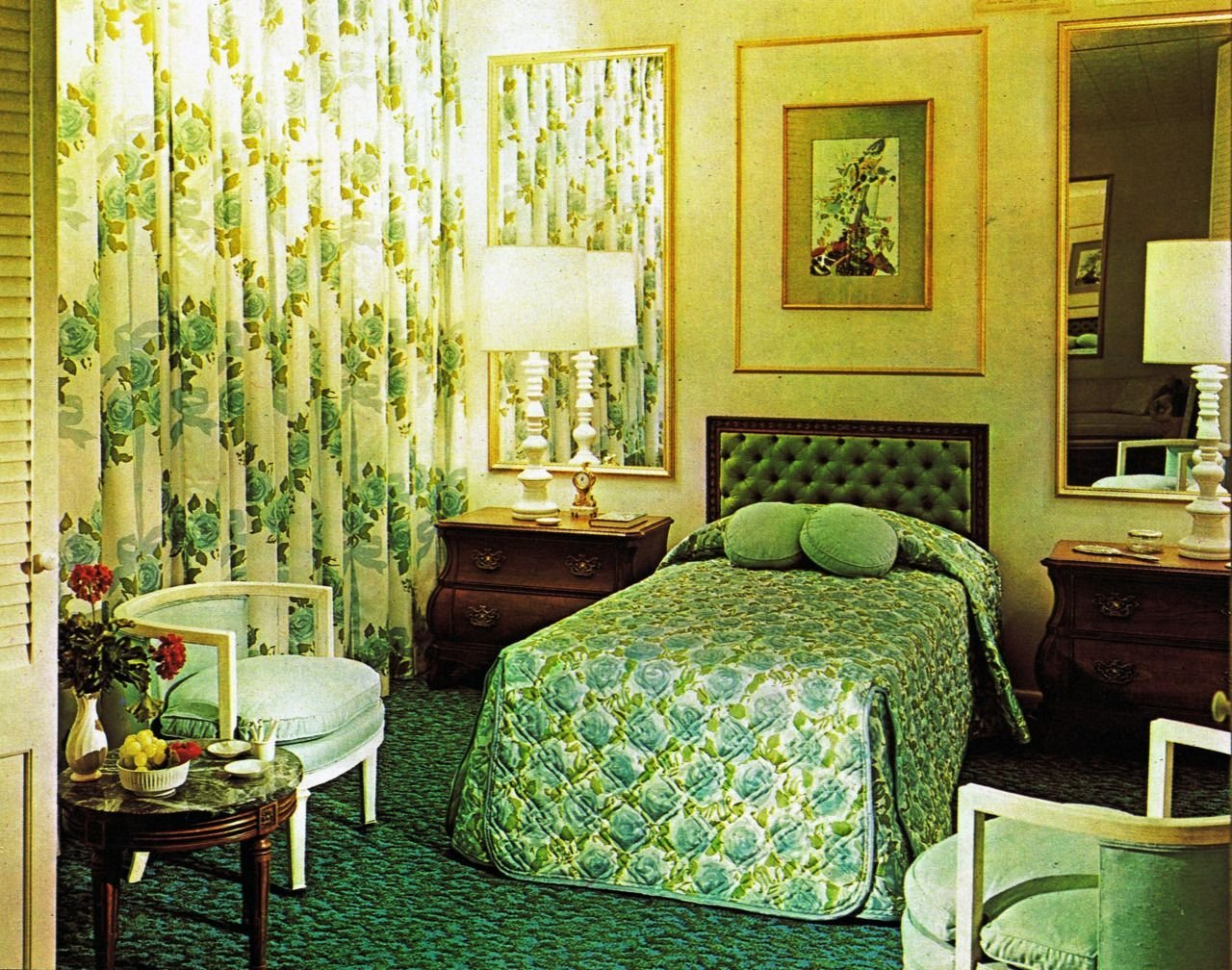 Best Green Bedroom From The 1960S Midcentury And Vintage With Pictures