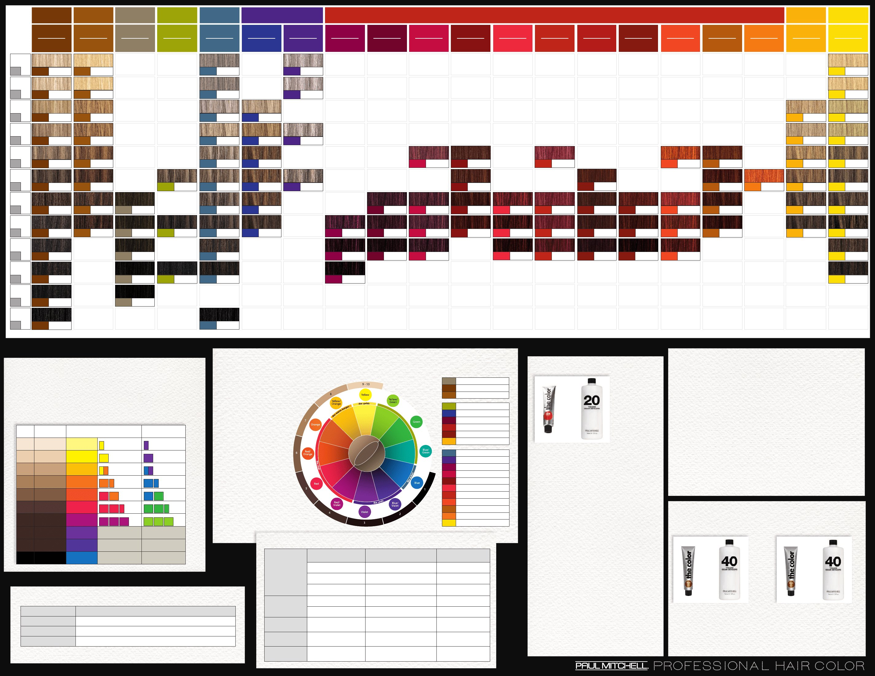 Free Pm Color Chart Hair Salon Pinterest Colour Chart Wallpaper