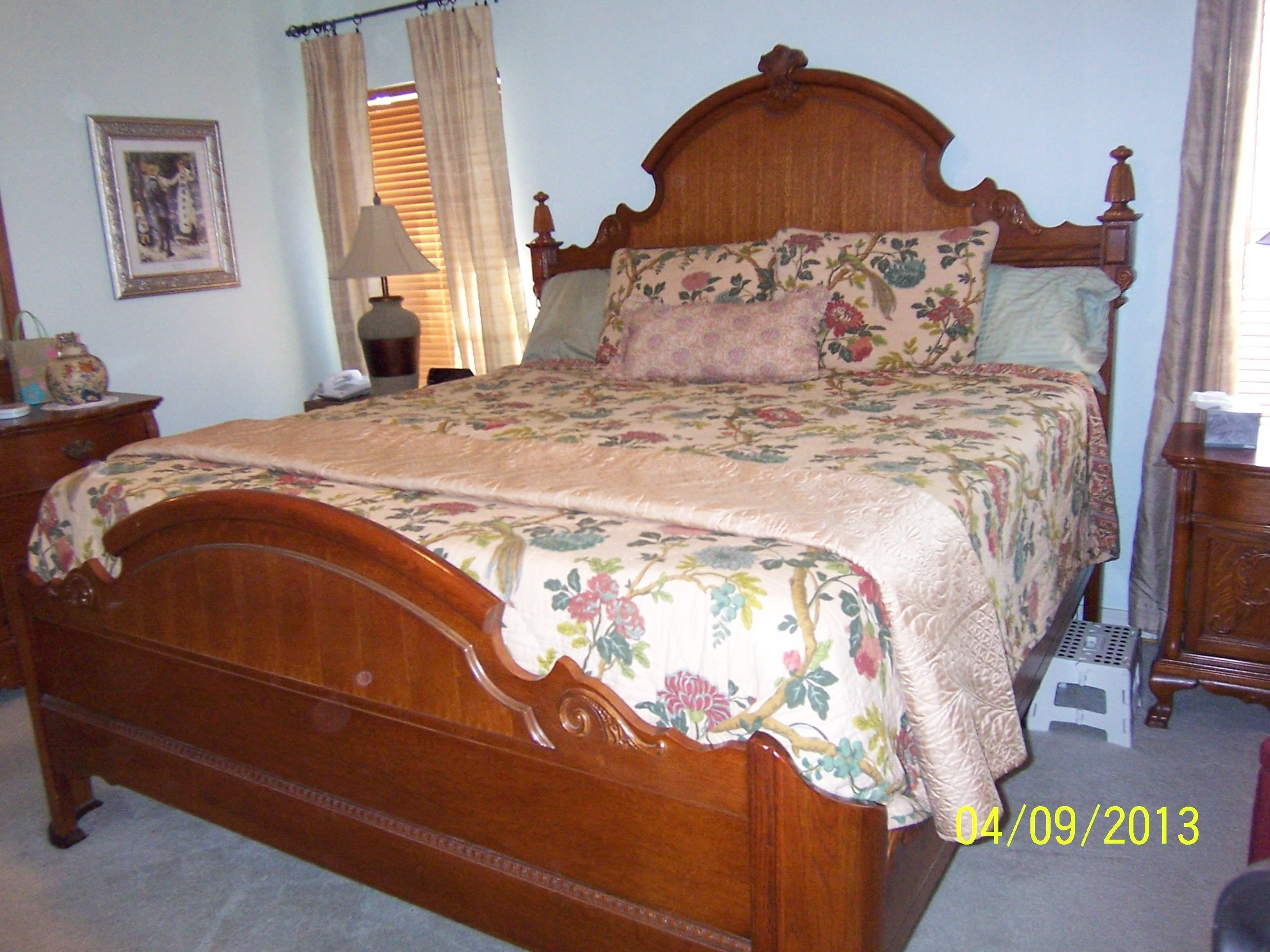 Best Lexington Victorian Sampler King Mansion Bed I Have The With Pictures