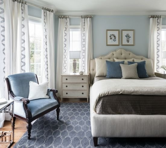 Best Bedroom Paint Color Trends For 2017 Glass Slipper Benjamin Moore And Wall Colors With Pictures
