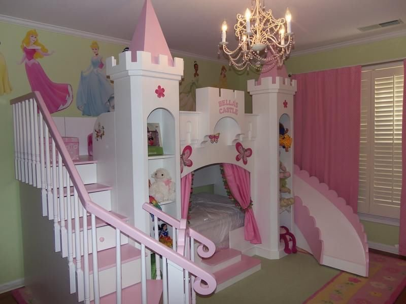Best New Custom Princess Bella 2 Castle Bed Loft Bunk Dream With Pictures