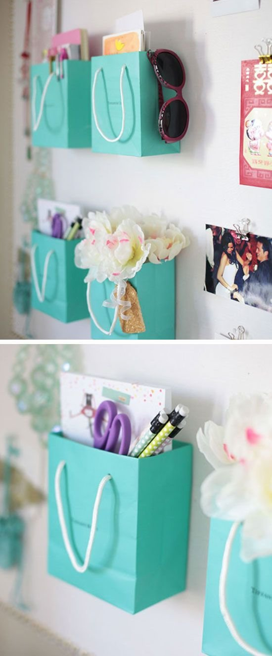Best Shopping Bag Wall Organizers 23 Life Hacks Every Girl With Pictures
