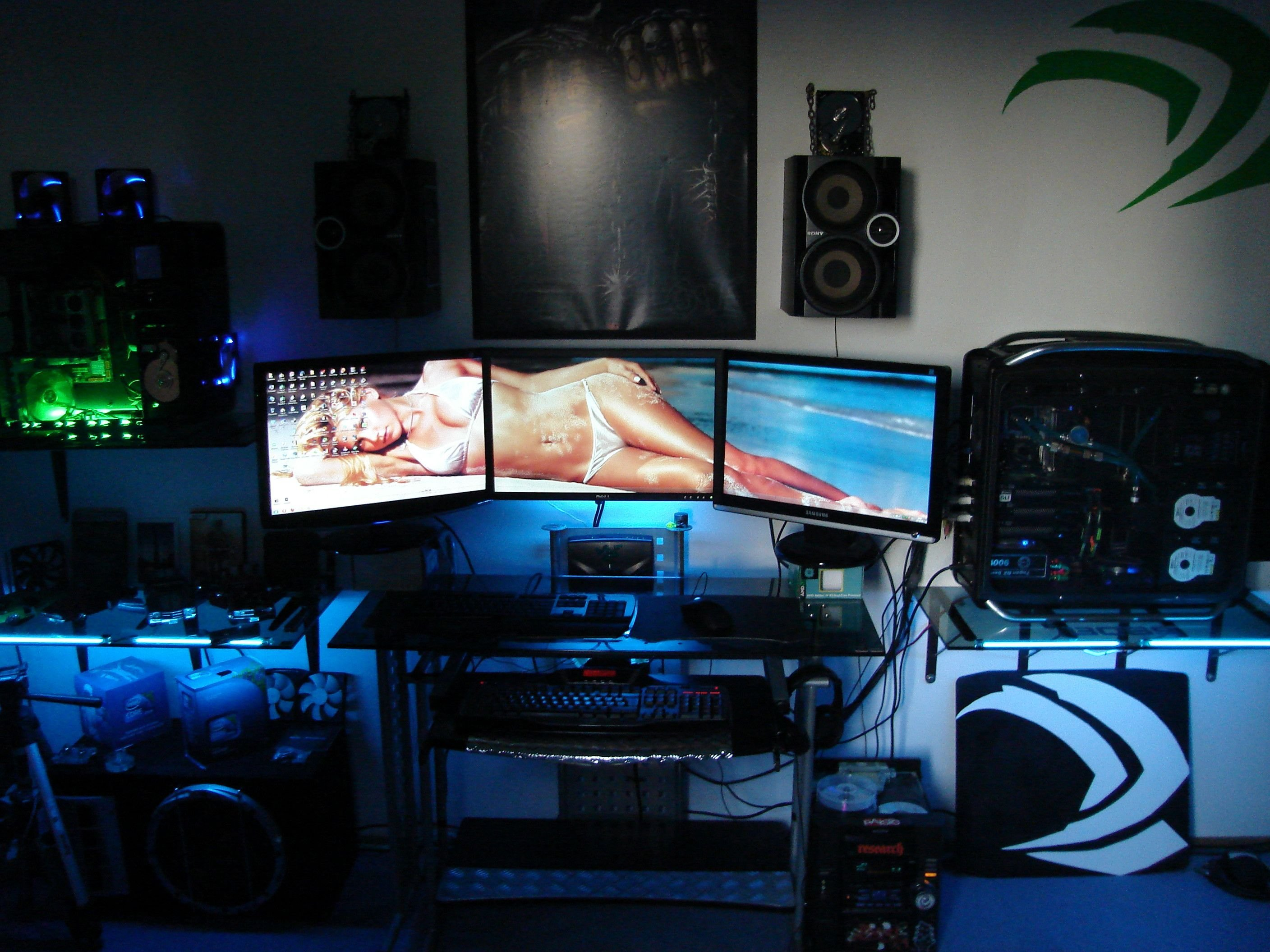 Best Accessories Furniture Adorable Best Computer Setup With With Pictures