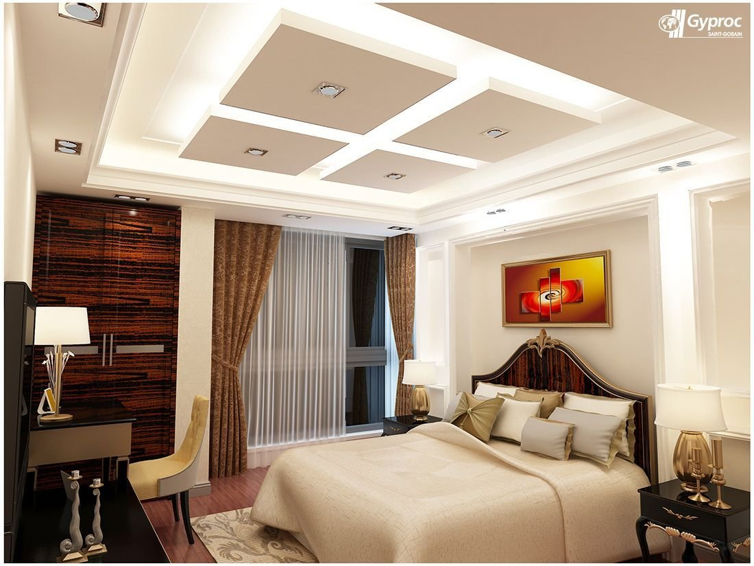 Best Gyproc ‪ ‎Falseceiling‬ Can Completely Change Your Bedroom With Pictures