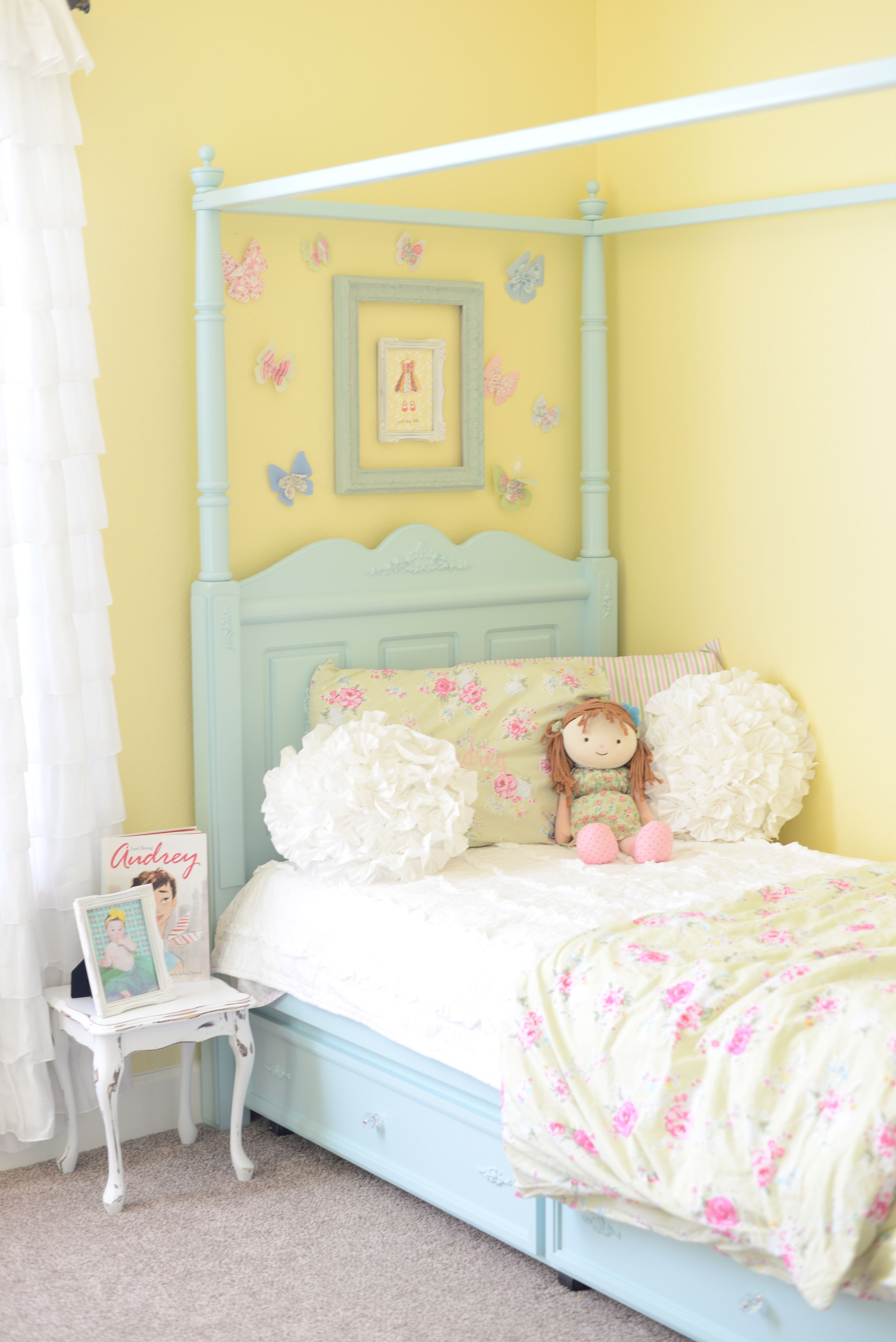 Best Shabby Chic Girls Bedroom Love This Wall Color Sadie S With Pictures