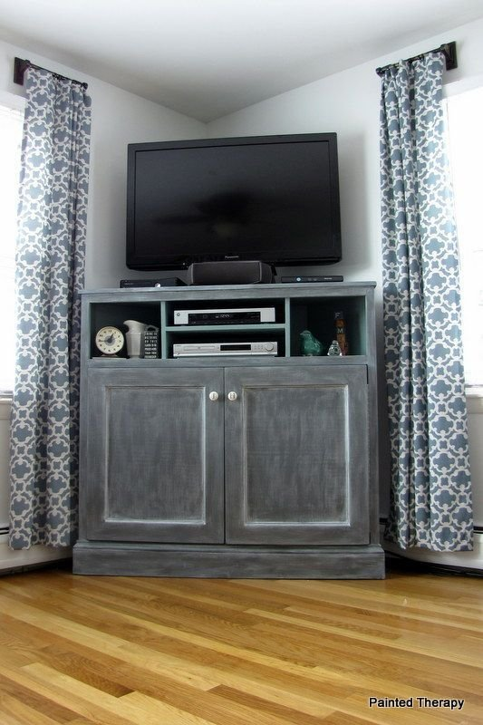 Best Tall Tv Stands On Pinterest Wicker Bedroom Black Tv With Pictures