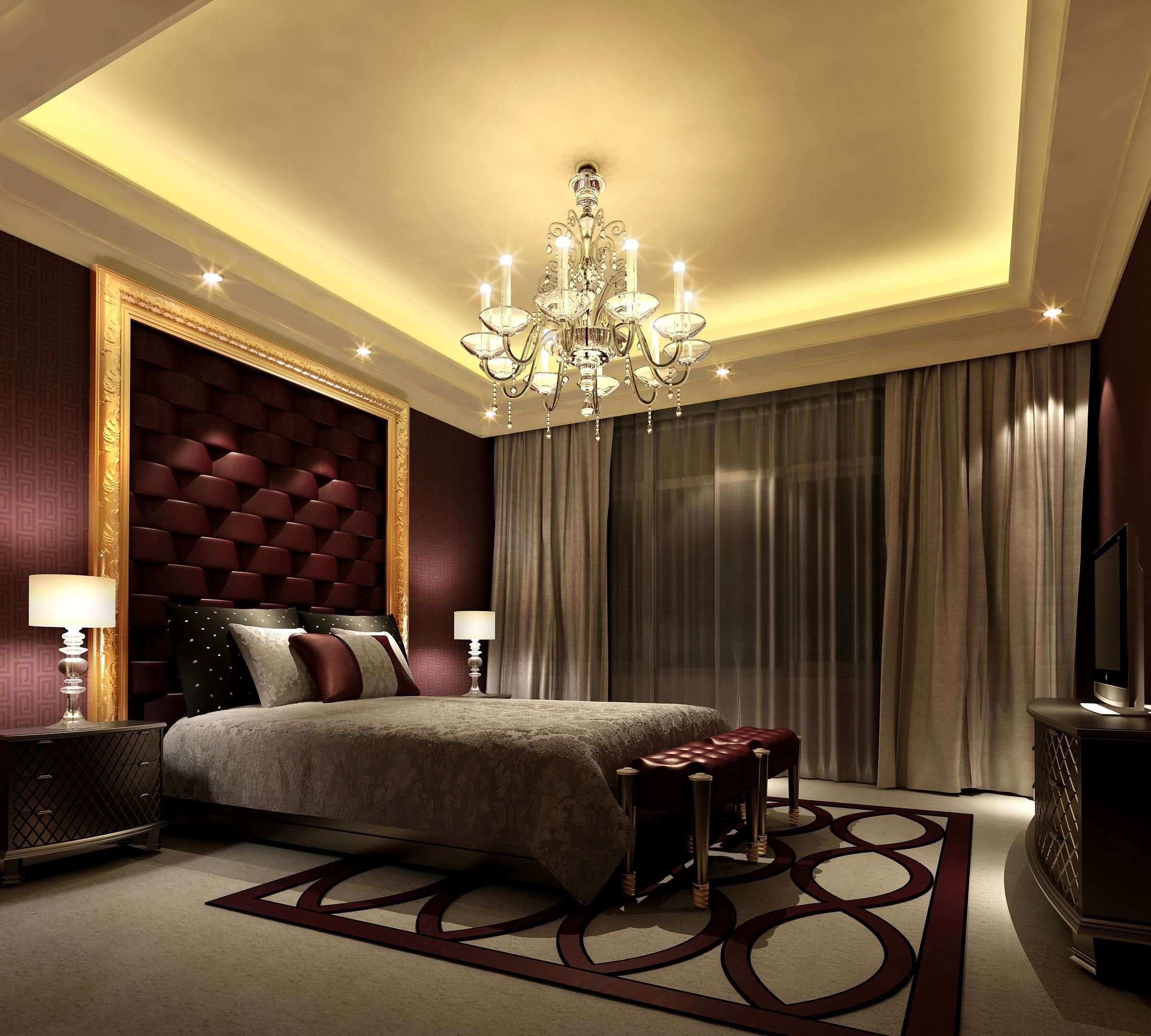Best Elegant Bedroom Idea Comfortable Mood 4780 Modern Home With Pictures