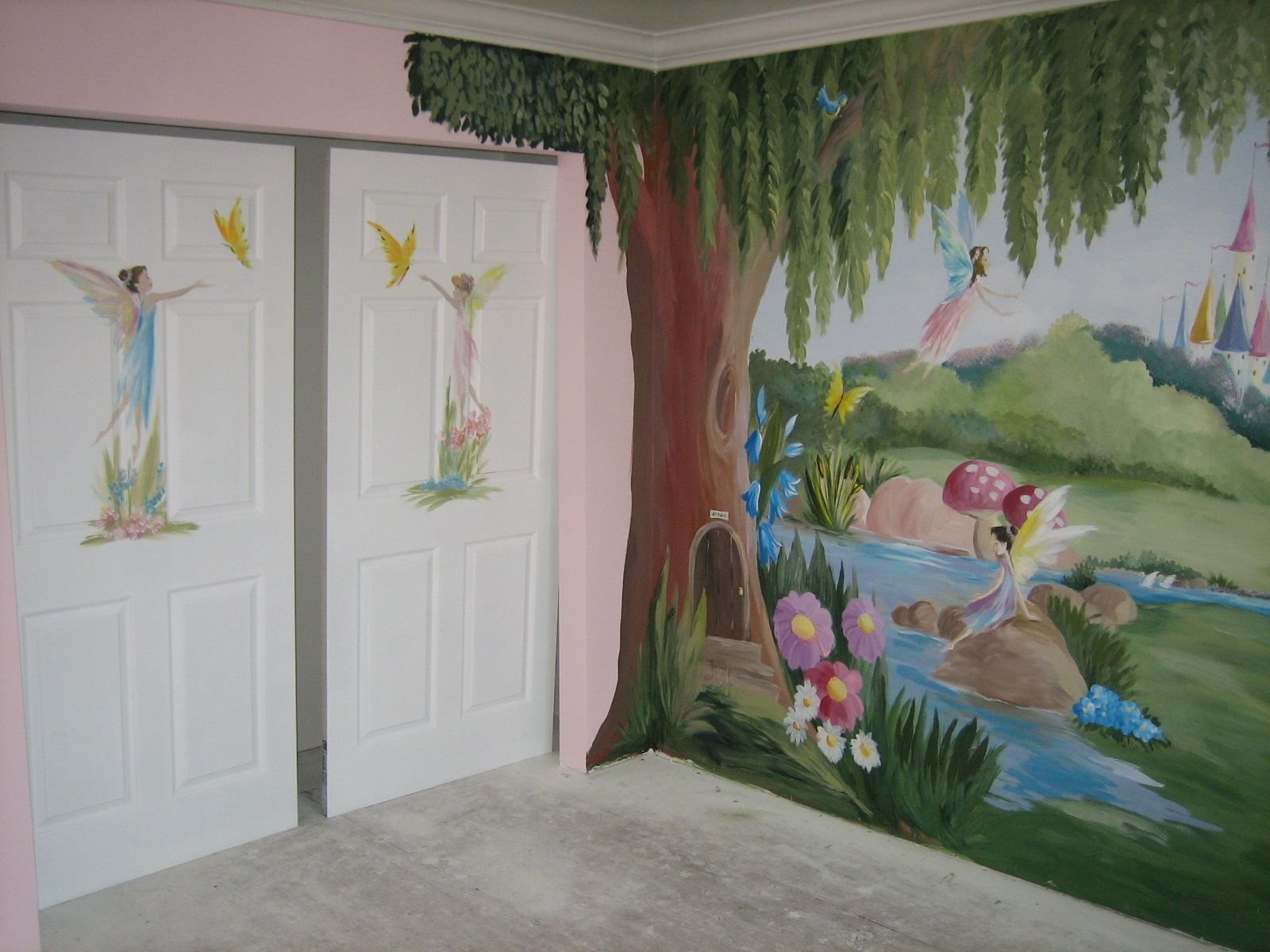 Best Fairy Theme Room Little Girl In Tarzana Wanted A Fairy With Pictures